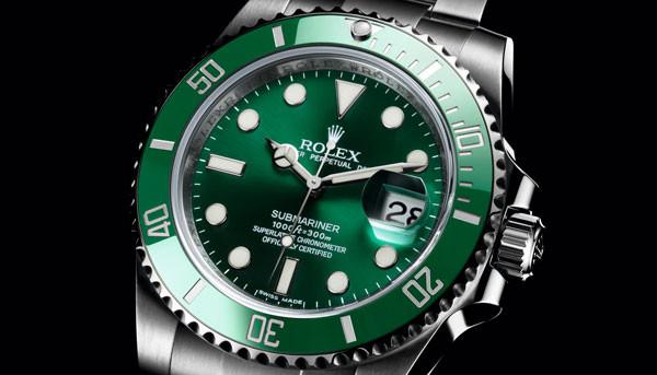 劳力士手表回收行情:劳力士绿水鬼手表回收价格怎么样?