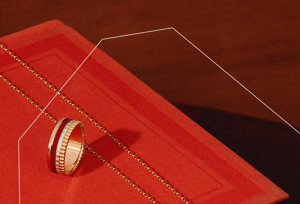 旧的宝诗龙Boucheron戒指回收价格是多少?