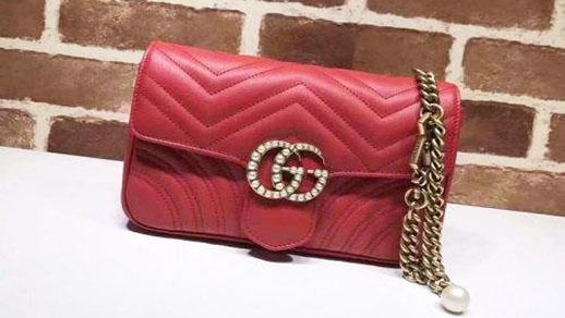 奢侈品鉴定:一招教你辨别Gucci包包真假!