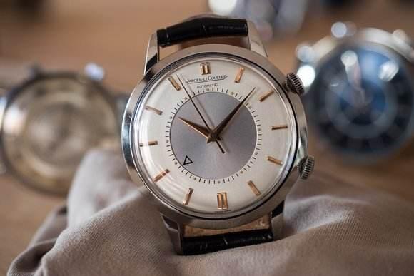 积家手表回收,区分金陀和钢陀的方法