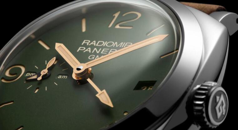 沛纳海推出四款全新军绿盘Radiomir腕表