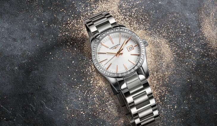 浪琴表推出全新康铂系列腕表,标志性优雅气质!