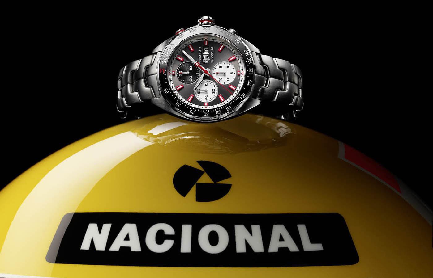 泰格豪雅纪念F1传奇发布两款全新时计