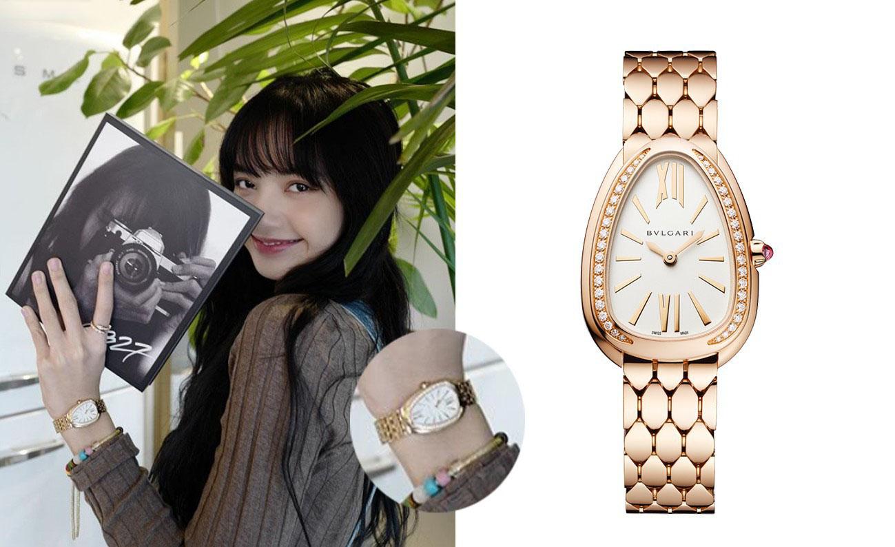 盘点《青春有你2》导师Lisa爱戴的表!