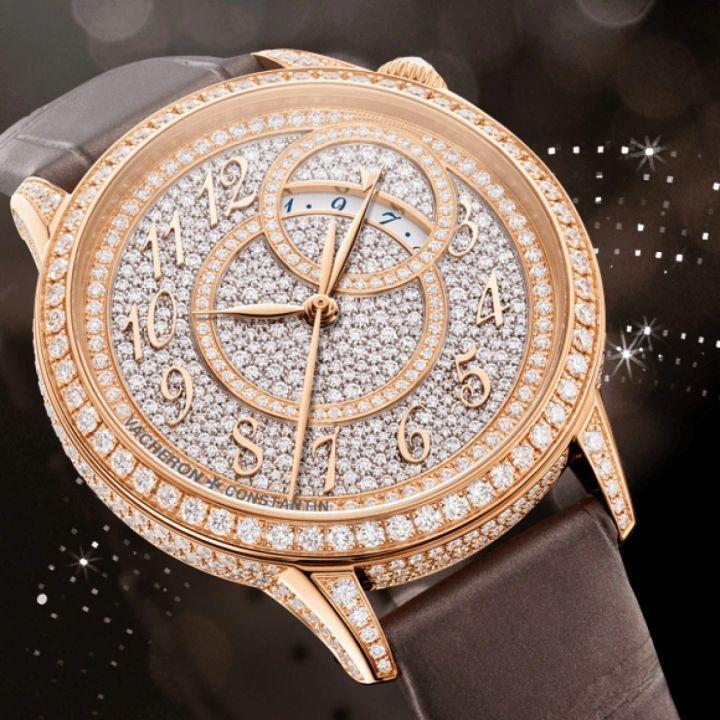 江诗丹顿手表回收,回收江诗丹顿手表,江诗丹顿Égérie伊灵女神系列腕表