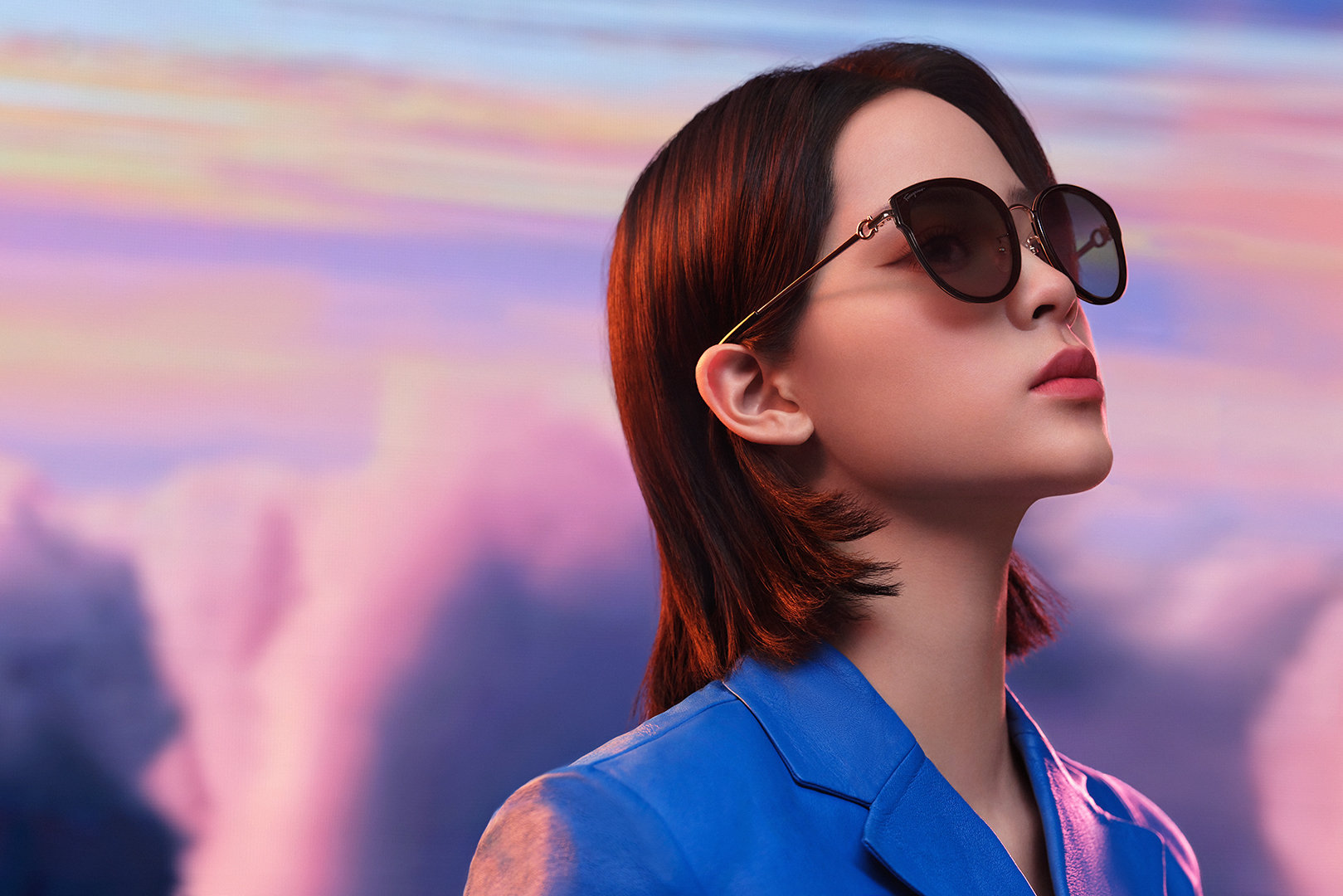 欧阳娜娜出任Salvatore Ferragamo菲拉格慕眼镜全球品牌代言人